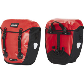 Red Cycling Products WP100 Pro II Bike Pannier red